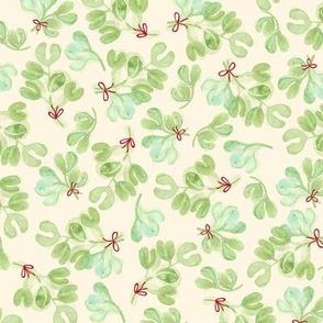 Tinsel Nouveau: Mistletoe Cream