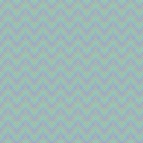 iridescent chevron