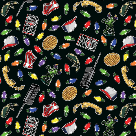 Friends Don't Lie, Version 2 Smaller fabric by tabpin on Spoonflower - custom fabric