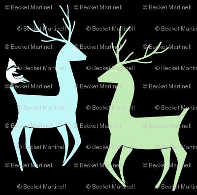Vixen and  Valor Reindeer friends