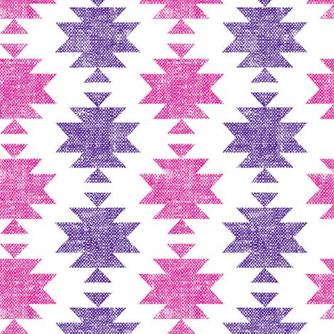 modern aztec || woven fabric by littlearrowdesign on Spoonflower - custom fabric