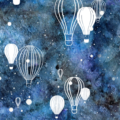 Must see Wallpaper Night Hot Air Balloon - rskys-the-limit_nightsky_pattern2_shop_preview  Trends-133212.png