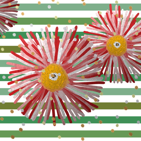 Daisy Dreamer Artist Headband (CLEARER in thumbnail) by Su_G fabric by su_g on Spoonflower - custom fabric