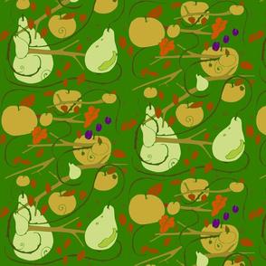 fruits stencil