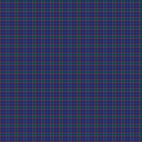 1:12 scale Massachusetts tartan fabric by weavingmajor on Spoonflower - custom fabric