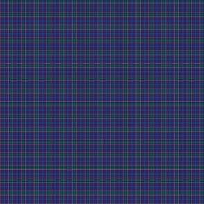 1:12 scale Massachusetts tartan