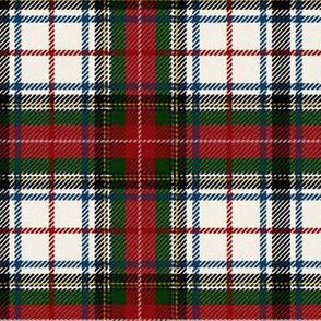 Stewart Dress Tartan ~ Faded on Queen Anne's Lace