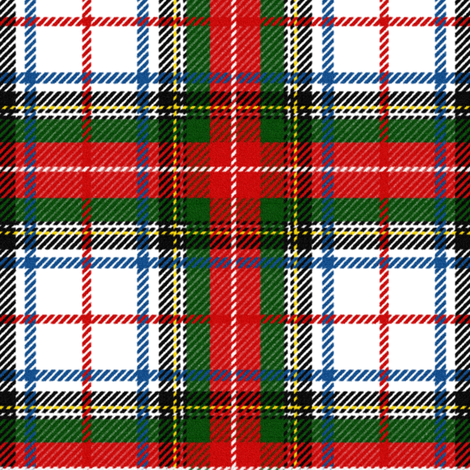 Stewart Dress Tartan ~ Richelieu, Gretna Green, Victory, and Grand Tour  fabric by peacoquettedesigns on Spoonflower - custom fabric