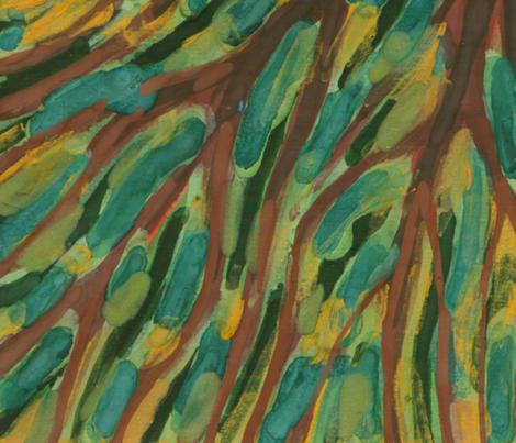Silence Of Night fabric by wojtekkowalski on Spoonflower - custom fabric