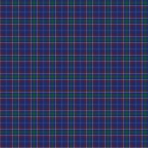 "1:6 scale Massachusetts  tartan (1"" repeat)"
