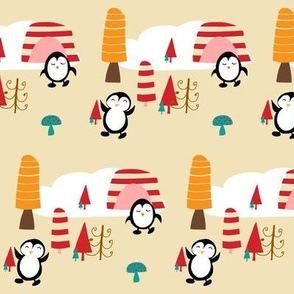 Penguin christmas party neutral