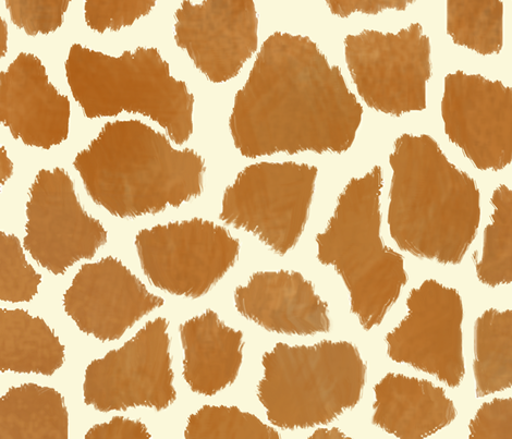 Custom Giraffe Spots 2 fabric by eclectic_house on Spoonflower - custom fabric