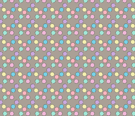 Pastel circles 1 fabric by knusperfelix on Spoonflower - custom fabric