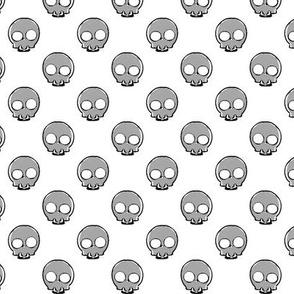 Skulls white