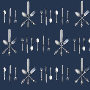 Utensils: Knife Fork Spoon