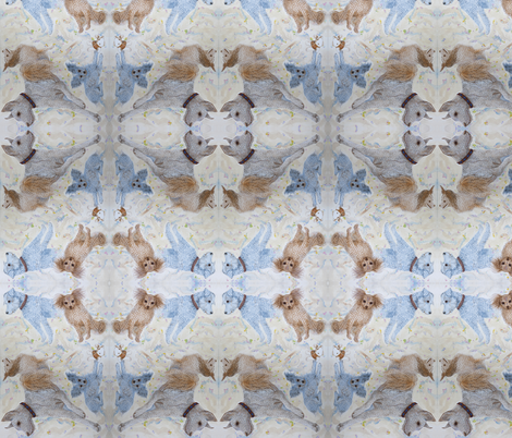 Friendly and Furry Dogs fabric by nancy_lee_moran_designs on Spoonflower - custom fabric