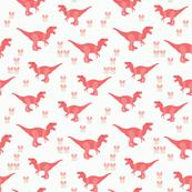 Dinosaur Pink Medium