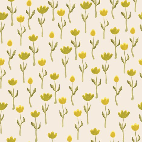 Rspoonflower_upnorth_flowers_cream_shop_preview