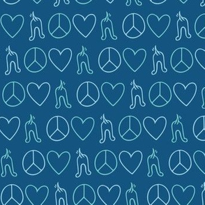 Peace, Love, Wiggle Butts
