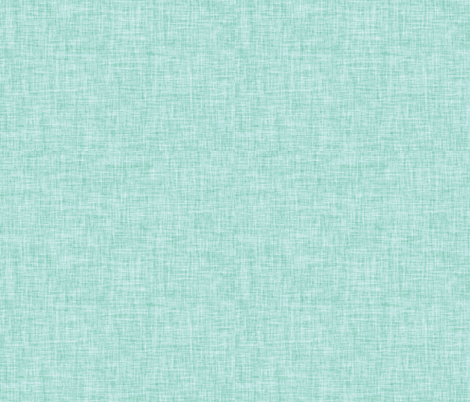 Linen Solid // Aqua fabric by ivieclothco on Spoonflower - custom fabric