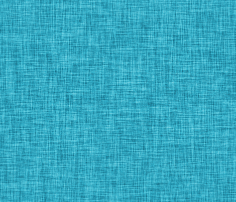 Linen Solid // Turquoise fabric by ivieclothco on Spoonflower - custom fabric