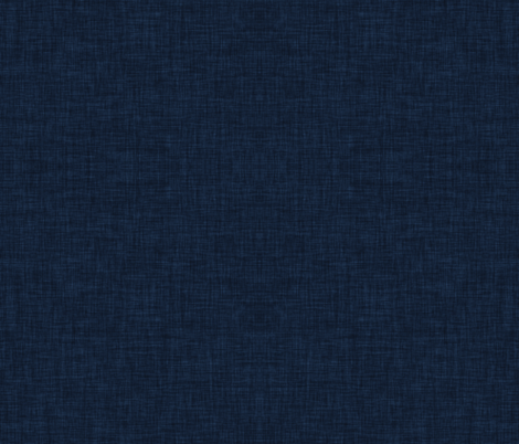 Linen Solid // Navy fabric by ivieclothco on Spoonflower - custom fabric