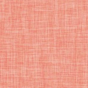 Linen Solid // Geranium