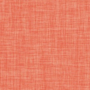 Linen Solid // Coral