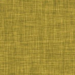 Linen Solid // Mustard