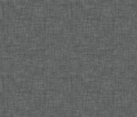 Linen Solids // Charcoal fabric by ivieclothco on Spoonflower - custom fabric