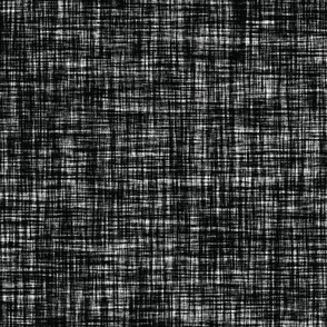 Linen Solid // Blackest Black