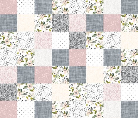 Rrrrrblush-and-charcoal-sprigs-and-blooms-square-wholecloth-_shop_preview