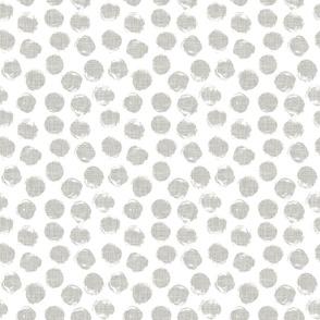 RETIRING 8/1/17 linen dots // pantone 169-1