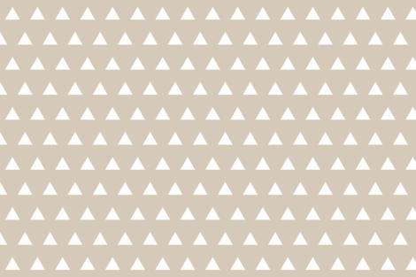 Triangles // Pantone 13-2 fabric by ivieclothco on Spoonflower - custom fabric
