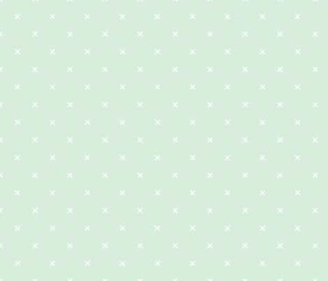 X // Pantone 142-1 fabric by ivieclothco on Spoonflower - custom fabric