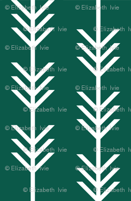 Arrow Stripes // Pantone 132-16