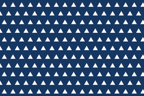 Triangles Pantone 108 16 Fabric By Ivieclothco On Spoonflower