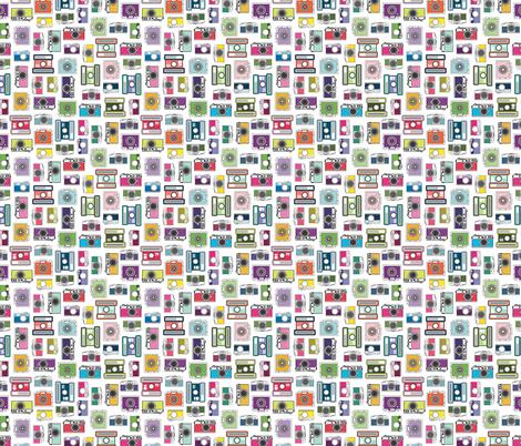 Cameras fabric by kellyrenay on Spoonflower - custom fabric