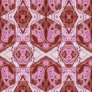 Nouveau Geometric For Pink and Red Souls