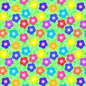 Swirly with flowers