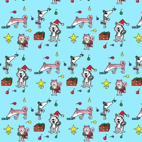 Husky_Christmas