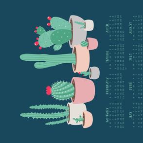 2019 Desert Dreams Tea Towel Calendar