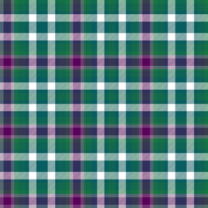 Virginia state tartan #1, modern colors