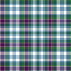 Virginia state tartan #1, ancient colors