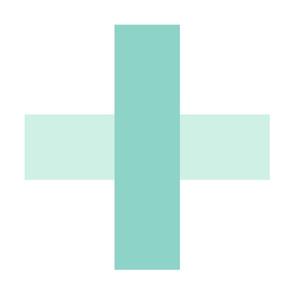 cross mint mod baby » plush + pillows // fat quarter