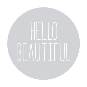 hello beautiful grey mod baby » plush + pillows // fat quarter