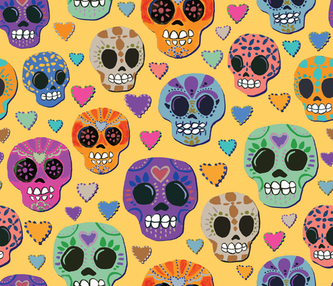 Sweet-Remembrance fabric by lisa_travis on Spoonflower - custom fabric