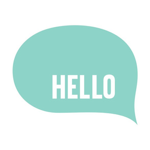 hello speech bubble mint mod baby » plush + pillows // fat quarter