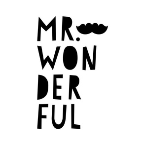 mr. wonderful black mod baby » plush + pillows // fat quarter