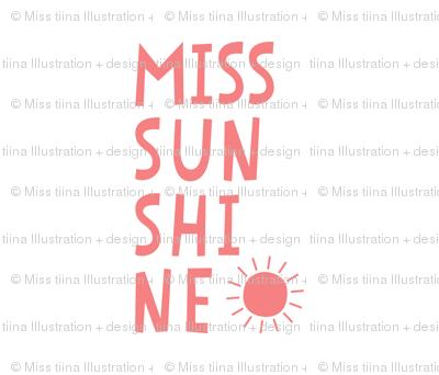 miss sunshine coral mod baby » plush + pillows // fat quarter